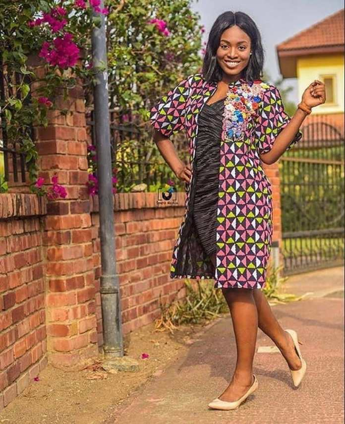 Adorable Photos of young Tracy, wife of Despite's son Kennedy Osei pops up online 4