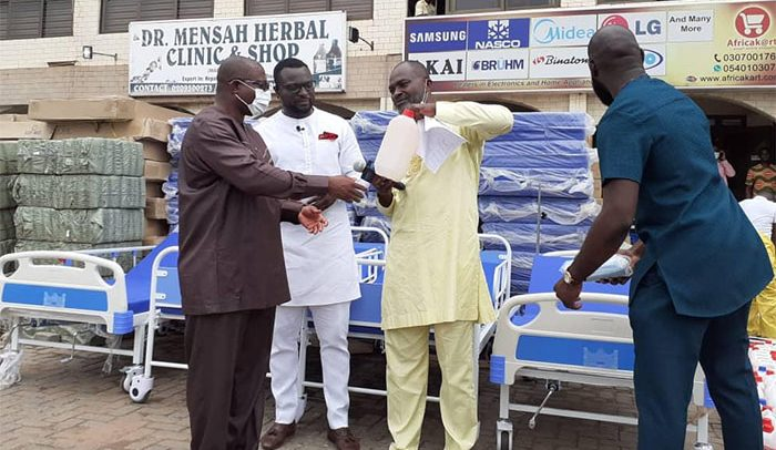 Kennnedy - Kennedy Agyapong Donates 3,000 Pieces Of Face Masks To Ridge Hospital
