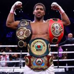 Anthony Joshua Rated Second Richest Sports Personality In The United Kingdom