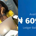 Young Lady Flaunts Her Account Balance Online- She Has A Whopping Ghc9,000