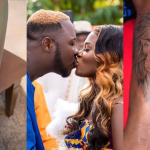 Medikal And His Wife Fella Makafui Get New Set Of Similar Tattoos On Their Arms(Photo+Video)