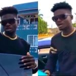 Kuami Eugene Shows His Acting Skills In A New Skit – Video