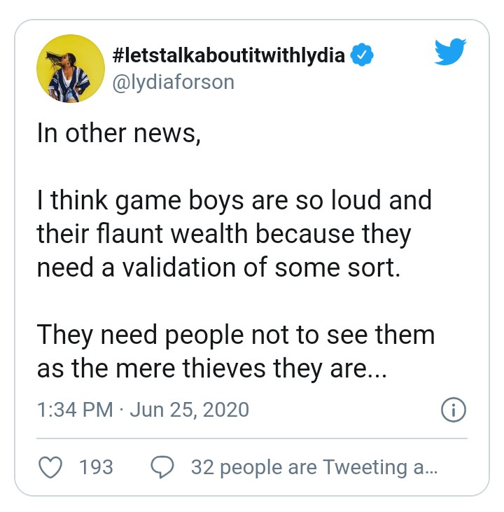 Fraud Boys Flaunt Their Wealth To Hide The Fact That They Are Thieves – Lydia Forson 3