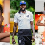 It Was Love At First Sight When I Saw You – Adebayor Celebrates Daughter's Birthday(+Photos)
