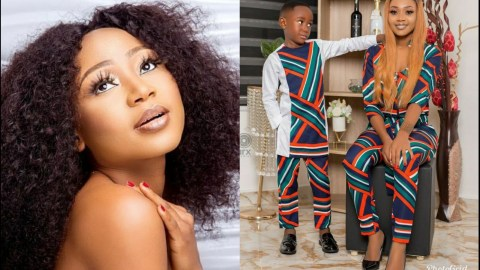 Akuapem Poloo Finally Breaks Silence On Nude Photo With Son, Claims It Was A Message (+Video)