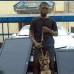 BADDEST: Nigerian Man Steals Dog That's Guarding A House After Stealing Other Items (Photo)