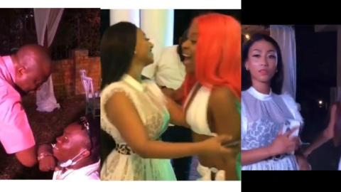 Highlights Of Hajia4Real's Plush Birthday Party With Shatta Bandle, Ibrahim Maham, Efia Odo, Sister Derby, And Other Celebrities