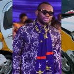 Prince David Osei Breaks Down, Thanking God After Escaping A Fatal Car Accident – PHOTOS