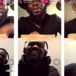 Sarkodie And Manifest Have The Best Of Time On A Live Chat, Talking About Music And Teasing Each Other