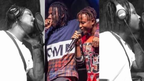 'Don't Say A Word, I Love You Anyway' – Kelvyn Boy's New Video, Makes Fans Assume He Is Apologizing To Stonebwoy