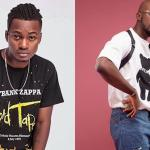 Yaw Berk Holds Mr Drew To The Neck, Asks Him To Confess He Wrote His New Song 'Later' For Him
