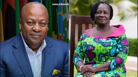 Ghanaians React After John Dramani Mahama Chooses A Woman As Running Mate