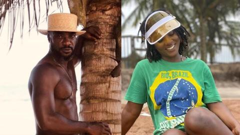 """""""Babe ❤️❤️❤️"""" – Kwabena Kwabena Flirts With Ahuof3 Patri On Social Media And Her Reply Was Equally Romantic And Sexy"""