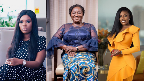 Delay And Nana Aba Anamoah React To Prof. Jane Opoku-Agyemang's Appointment As Running Mate For NDC