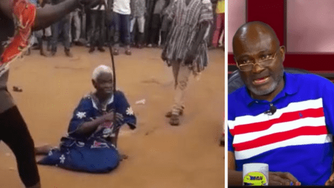 """Charge anyone who hit the 90 year old woman with treason & use firing squad on them""-Kennedy Agyapong fires (+Video)"