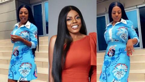 Nana Aba Anamoah Reacts In Shock After A Fan Eulogized Her With A 'Delicious' Comment