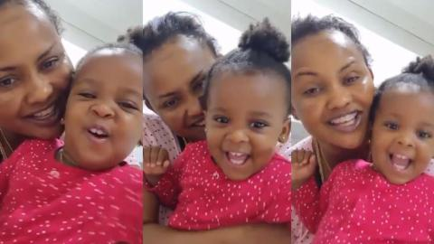 Nana Ama McBrown And Baby Maxin Share Another Adorable Video Of Their Play Time