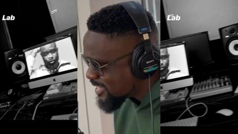 Ready For New Music? – Sarkodie Teases Fans As He Puts On Display His Home Studio (Video)