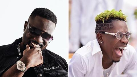 Shatta Wale And Sarkodie Get People Laughing Hard As They Finally Make Peace On His Birthday
