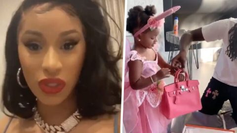 Cardi B Defends Offset Giving Two Year Old Daughter Ghc51,000 Handbag