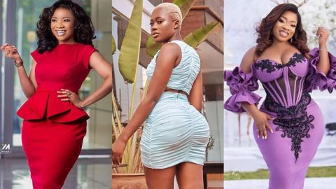 This Is How Serwaa Amihere And Moesha Bodoung 'Bowed' To Fella Makafui After Seeing Her Recent Photo