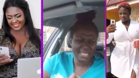 Actress Akosua Fosuaa(Odo Black) Rebukes Tracey Boakye For Disgracing Kumasi Folks, Blames FIPAG Leaders