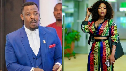 """You Were In Your Office In Your Boxer Shorts And You Wanted To Put Your Hands In My Robe! -Mzbel attacks Nigel Gaisey"