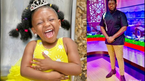 See These Adorable Photos Of Bulldog's 3 Year Old Daughter (+PHOTOS)