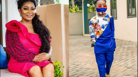 Vicky Zugah Shows Off Her Son As He Marks His Fourth Birthday (+Photos)