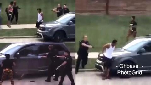 #BlackLivesMatter: White Police Officer Shoots Unarmed Black Man Seven Times In The Back In Front Of His Children