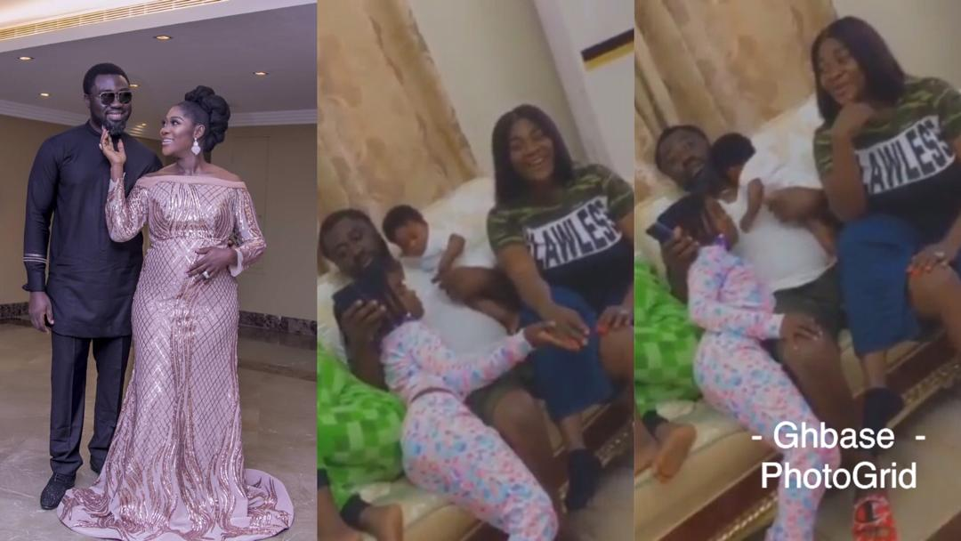 Mercy Johnson-Okojie And Husband Celebrate 9th Wedding Anniversary With A Family Video