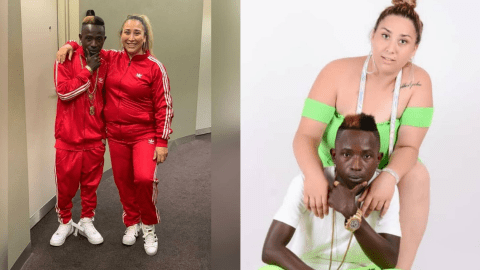 Patapaa's Girlfriend Reacts To Reports That He Had Been Poisoned