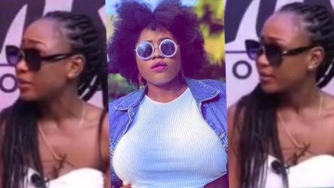 Akuapem Poloo Cries As She Tells How Lydia Forson Made Her Feel Rejected