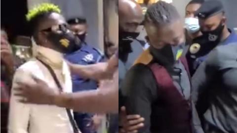 This Was Stonebwoy And Shatta Wale's Glorious Arrival At The Venue Of Their Clash
