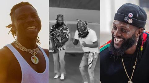 Stonebwoy Calls Adebayor 'A God' On Earth After Spending Quality Time With Him