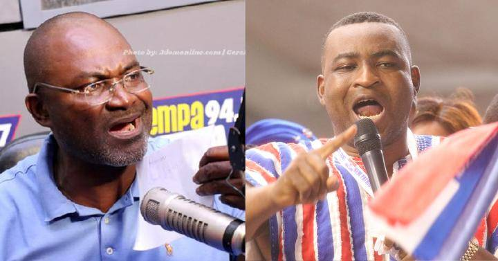 Chairman Wontumi, Kennedy Agyapong declared individuals with the most indecent expressions on radio