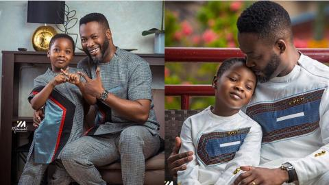 Samuel Adjetey Annan Serves Us with Adorable Photos Of Him And His Cute Son