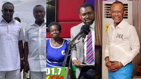 Old Granny BECE Student Receive Donation From Dr. Osei Kwame Despite And Brother, Fadda Dickson And Despite Media