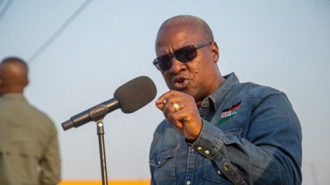 """God will be wicked to give NPP another four years"" – Mahama"