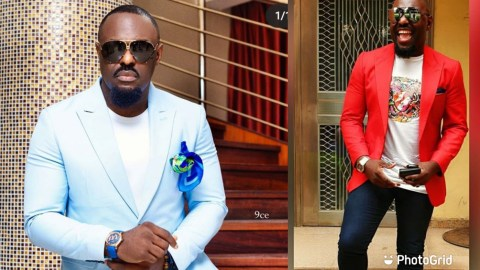 Jim Iyke Loses His Cool And Calls A Fan A Fat,Bleached, Lizard And More..