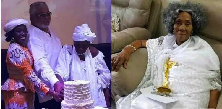 Rawlings' mother birthday