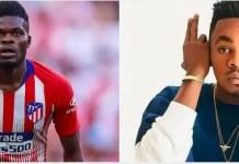 Patoranking wants Thomas Partey to join Arsenal