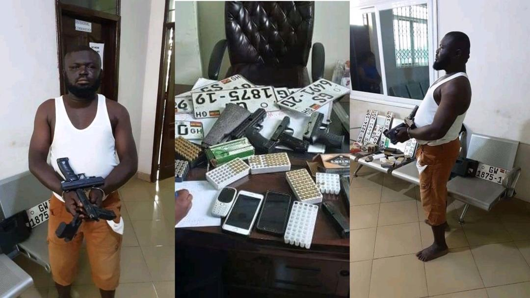 Notorious armed robber, who has been terrorizing people of Tema, finally arrested in Tamale.