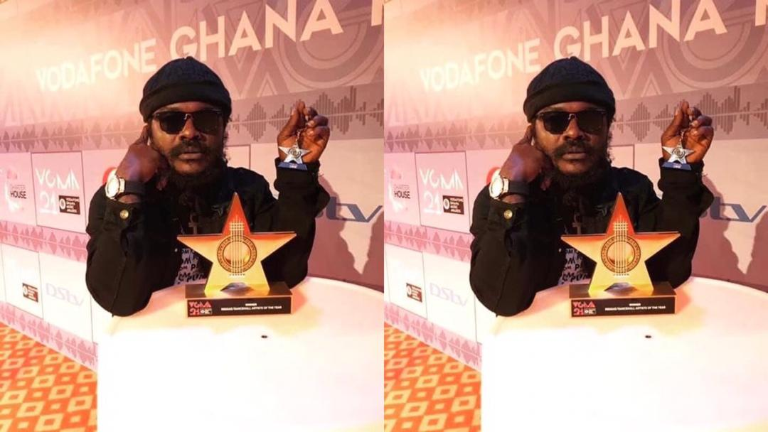 The award is not missing – Ras Kuuku breaks silence on missing VGMA plaque