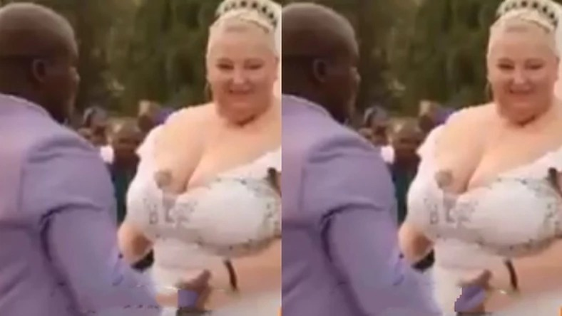 """'""""I am not going to vow to obey you"""" – White bride tells Black groom[Video]"""