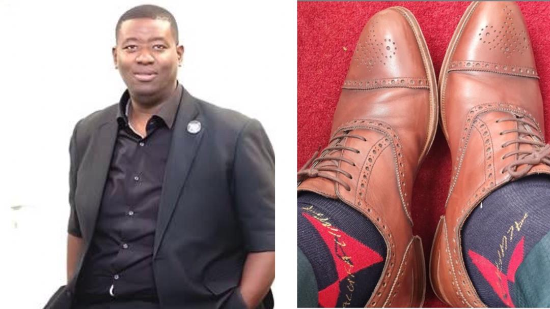 """""""As Christians, do not dress fashionably because it leads others to sin"""" – Pastor who has been wearing the same shoes for 12 years preaches"""