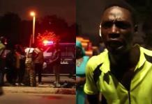 How a bus conductor publicly killed himself with the knife of an orange seller on the streets of Accra