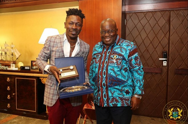 Shatta Wale allegedly paid GH¢2M by gov't for an ambassadorial role, parliament flags the transaction