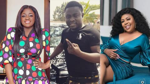 Things Go Wild As Tracey Boakye, Afia Shwarzenegger And Brother Sammy Meet For The First Time After Papa No Saga
