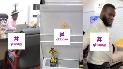 Shatta Wale's Assistant Gives A Proper Tour Of His Office Showing Every Part Of It